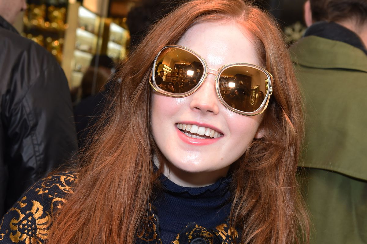 Note: these are some other Linda Farrow sunglasses. These are not THE sunglasses. Photo: David M. Benett/Getty Images