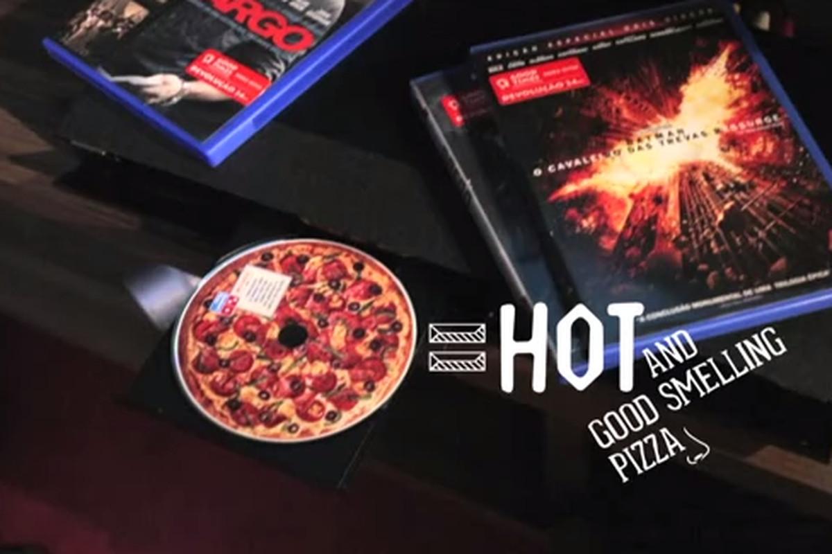 Pizza Hut labels