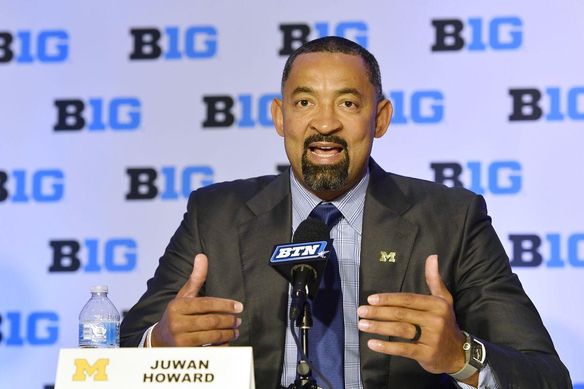 Juwan Howard's Michigan basketball coaching staff