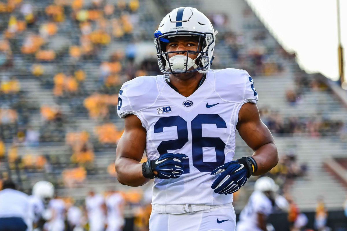 timeless design 368f9 841ad MMQB: Is Saquon Barkley the Best Penn State Player of the ...