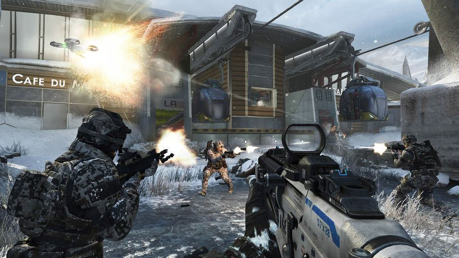 Hands on with black ops 2s revolution dlc zombie high rises and call of duty black ops 2 revolution screenshots gumiabroncs Gallery