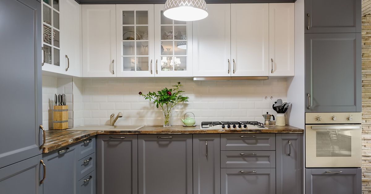 How to Paint Kitchen Cabinets Without Sanding - This Old House