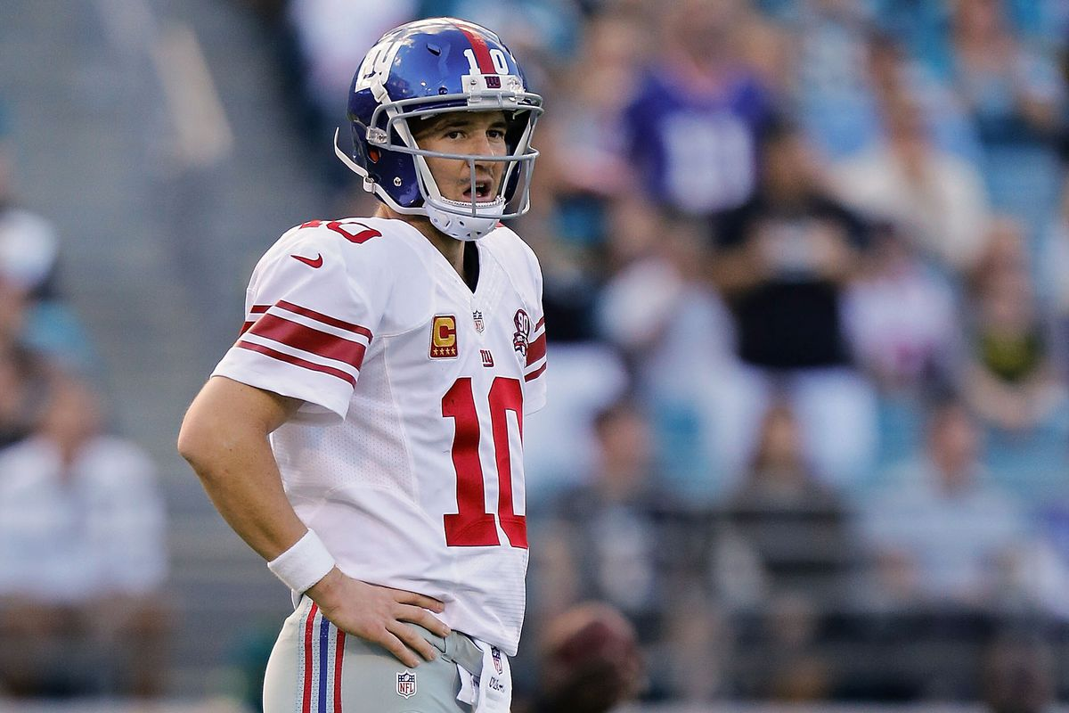 Another game for the Giants. Another loss. Another Manning face.