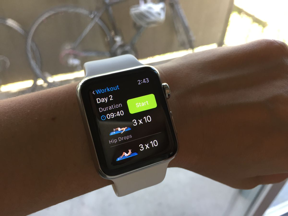 Runtastic's Six Pack app for Apple Watch takes you through guided ab workouts.