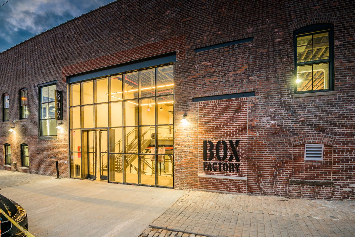 Ridgewood S New Creative Office Space Box Factory Wraps