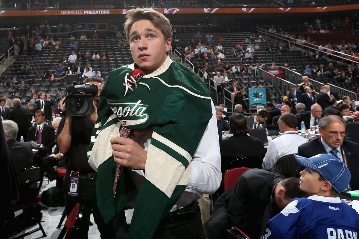 Is Alexandre Belanger going to make the Wild's Top 20 prospects?