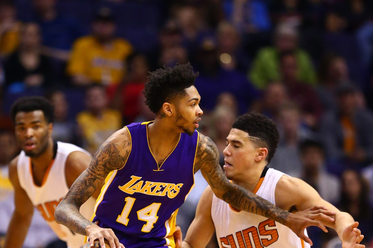 6b3e9df1cd4c Lakers News  Brandon Ingram is starting to work with Kobe Bryant ...