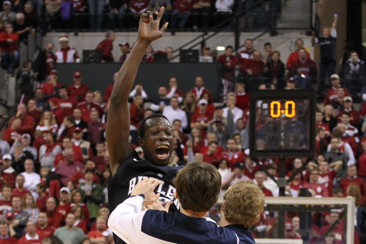 Khyle Marshall and the Butler Bulldogs knocked off No. 1 Indiana, 88-86 in overtime.