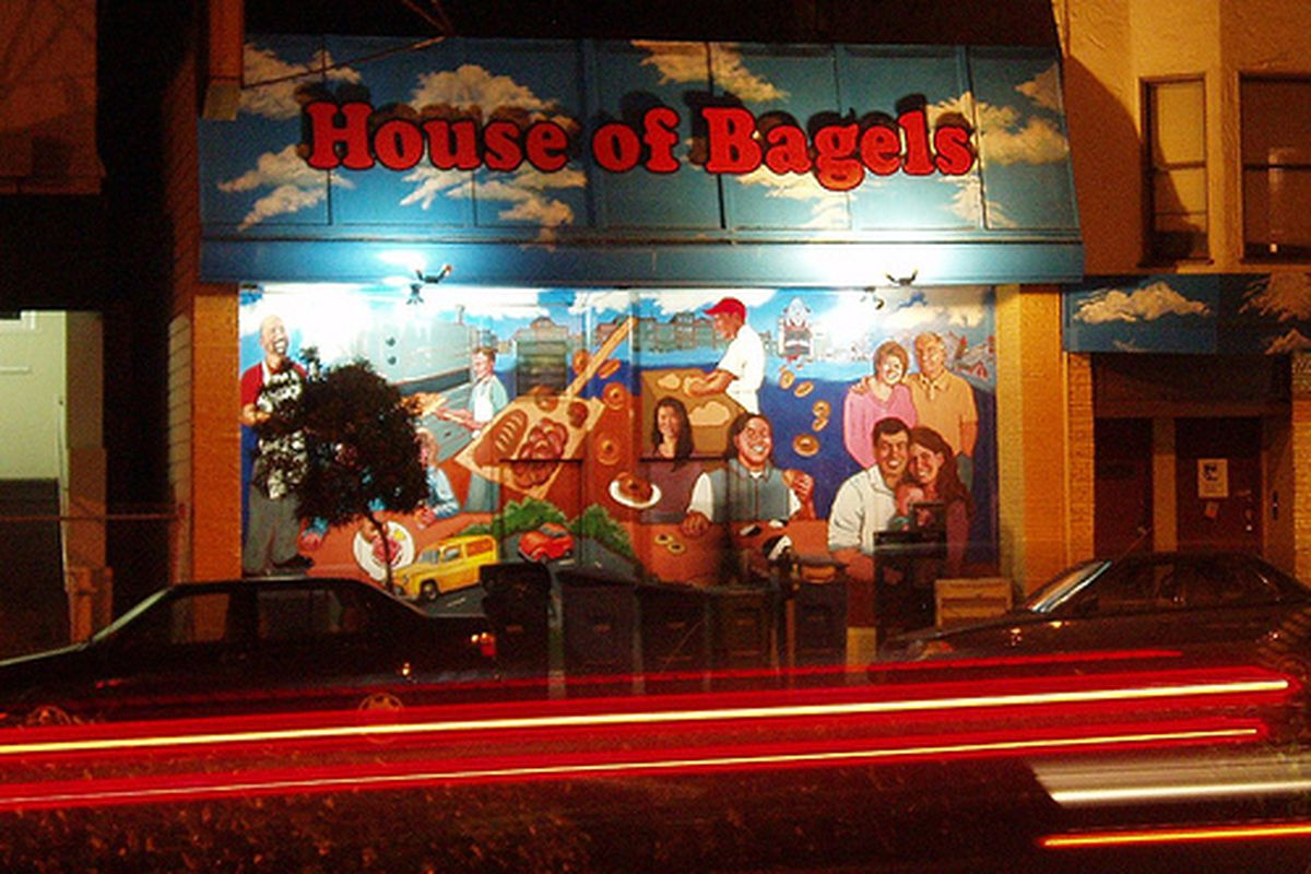 House of Bagels in repose.