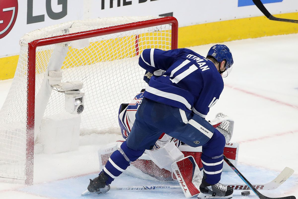 Toronto Maple Leafs fall to the Montreal Canadiens 3-1 in game seven in the first round of the NHL play-offs