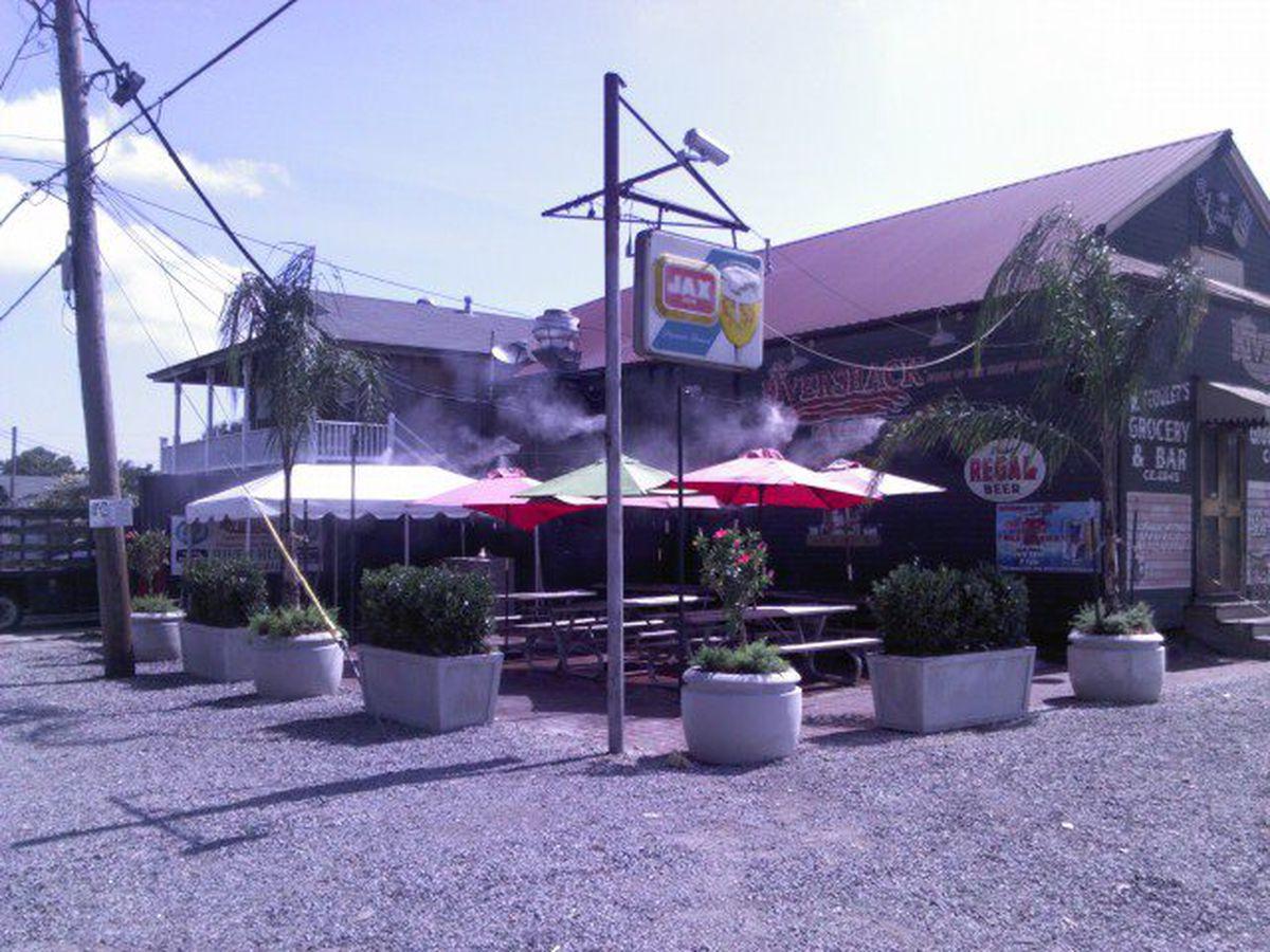 Rivershack Tavern, home of the Sunday berl