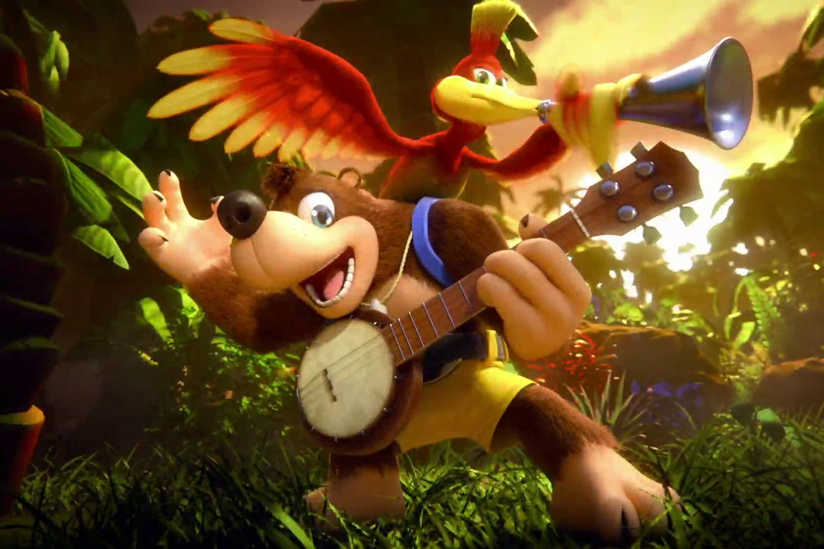 Super Smash Bros. Ultimate - Banjo-Kazooie art