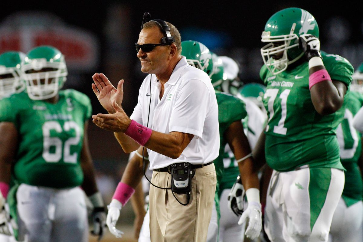 Hi, I'm the head coach at the University of North Texas and my players have opinions!