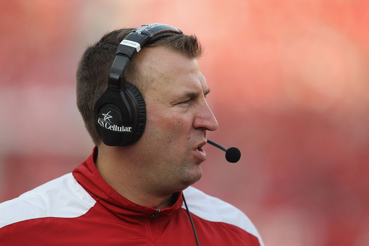 Bret Bielema is now the 3rd longest-tenured coach in the Big Ten after Joe Paterno was fired Wednesday evening.
