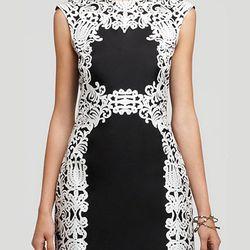 "<b>Tibi</b> Lace Print dress, <a href=""http://www1.bloomingdales.com/shop/product/tibi-sleeveless-lace-print-dress?ID=662113&CategoryID=20876#fn=spp%3D26%26ppp%3D96%26sp%3D1%26rid%3D53"">$385</a> at Bloomingdale's"
