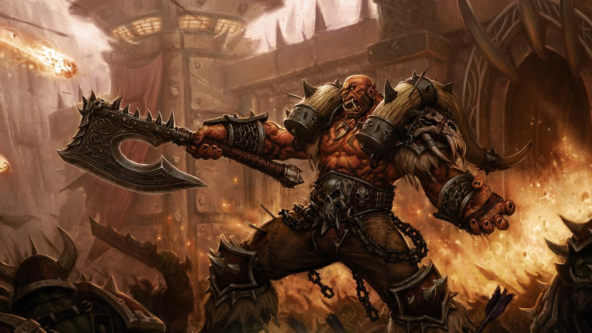 World of Warcraft - Trojan art