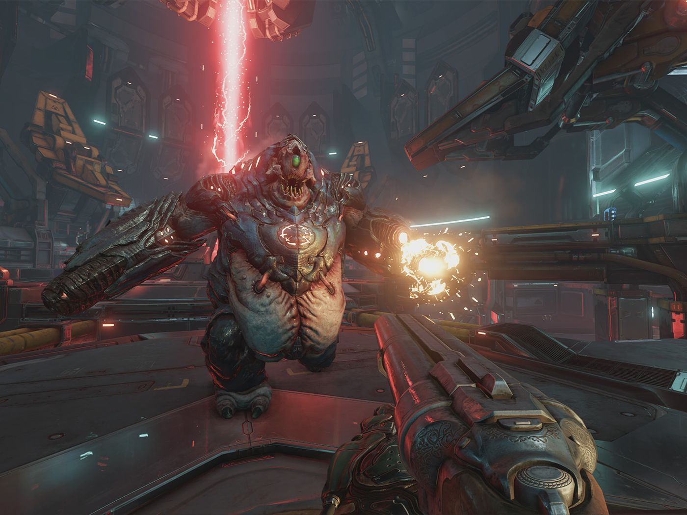 Doom gets 4K patches for Xbox One X and PS4 Pro - Polygon