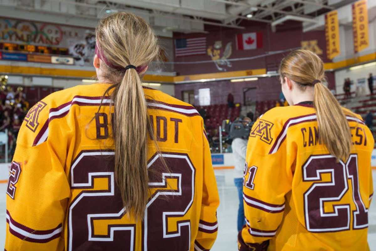 Hannah Brandt and Dani Camaranesi will try and capture another NCAA Championship