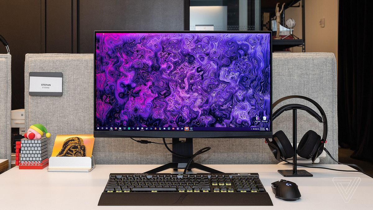 MSI Oculux NXG251 monitor review: faster isn't always better - The Verge