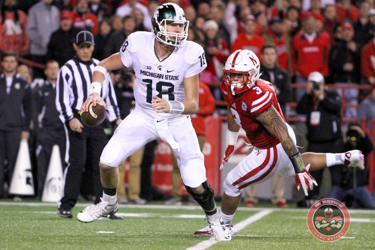 Marcus Newby pressuring a QB. Something Nebraska has to get better at period.
