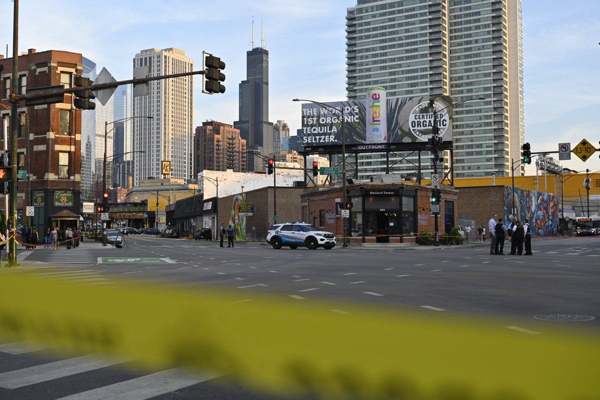 Four people were shot Wednesday, Sept. 29, 2021, in Fulton River District.