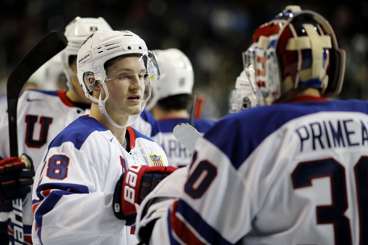 World Juniors 2019 Highlights Primeau Leads Usa To Sf Win Over
