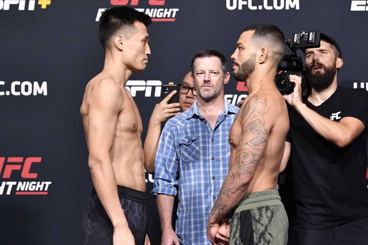 UFC Fight Night: The Korean Zombie v Ige Weigh-in