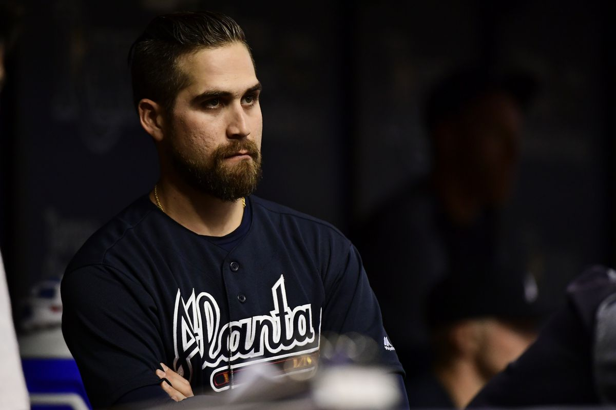 separation shoes 948b5 3cfdd Ender Inciarte out of the Braves' lineup on Wednesday ...