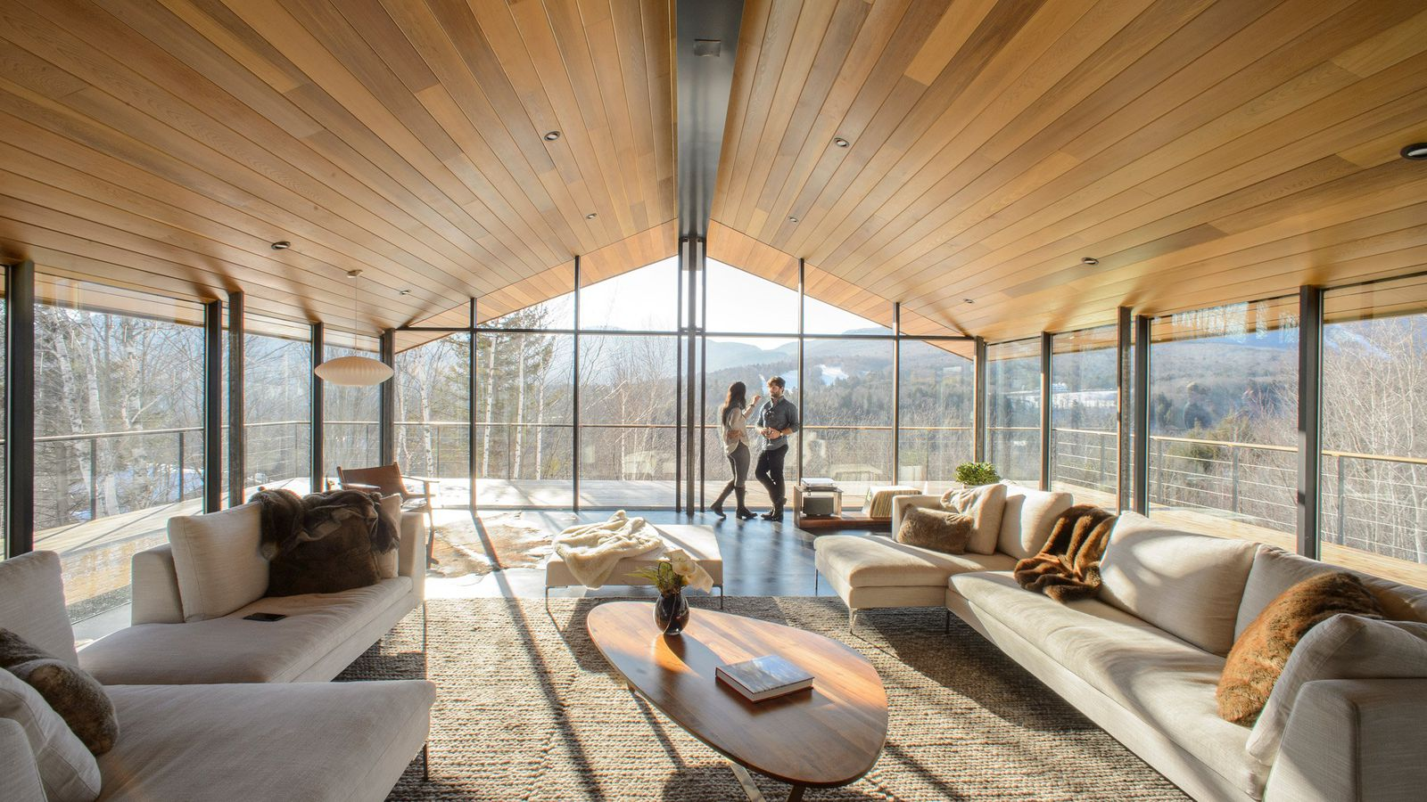 three pronged glass house rises in vermont curbed. Black Bedroom Furniture Sets. Home Design Ideas