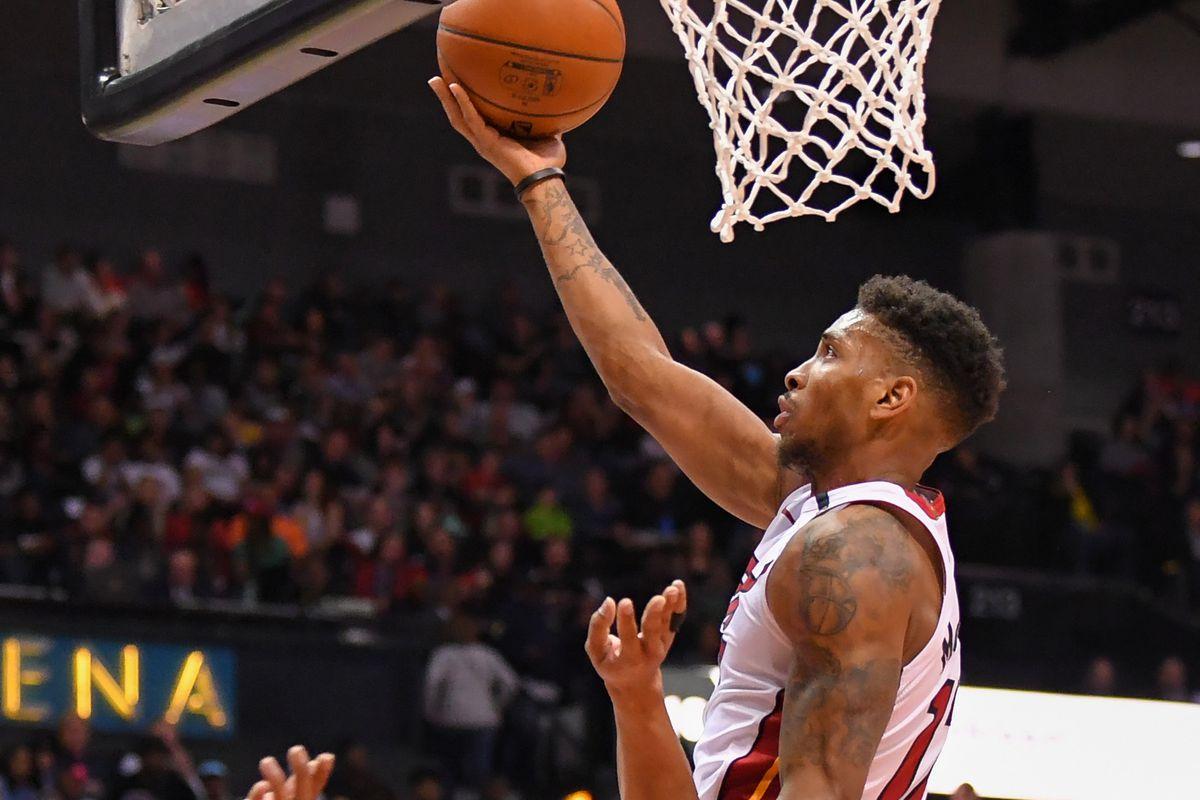 NBA: Miami Heat at Atlanta Hawks