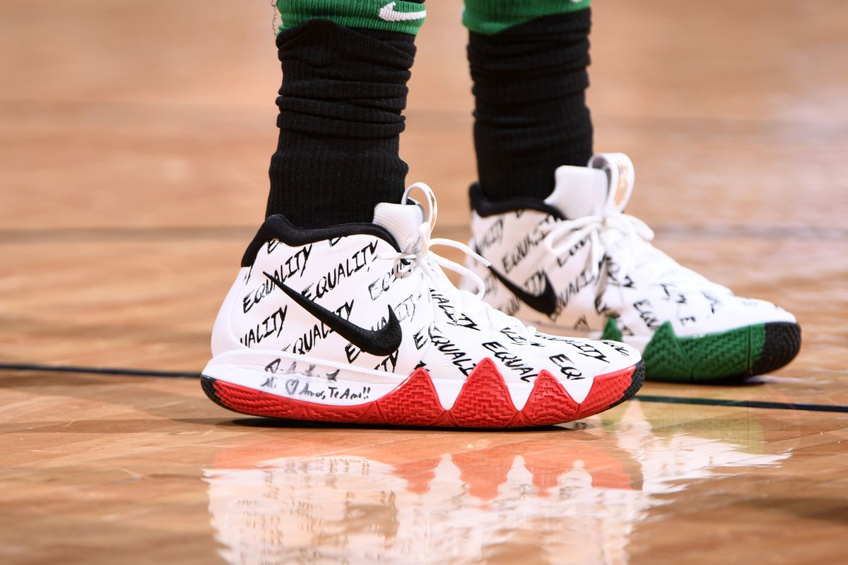 Kyrie 1 'BHM' Photo by Garrett Ellwood/NBAE via Getty Images