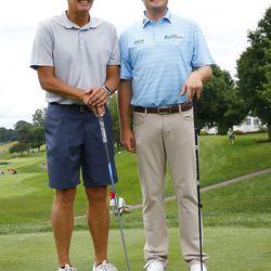 Randy Edsall and Jason Kokrak