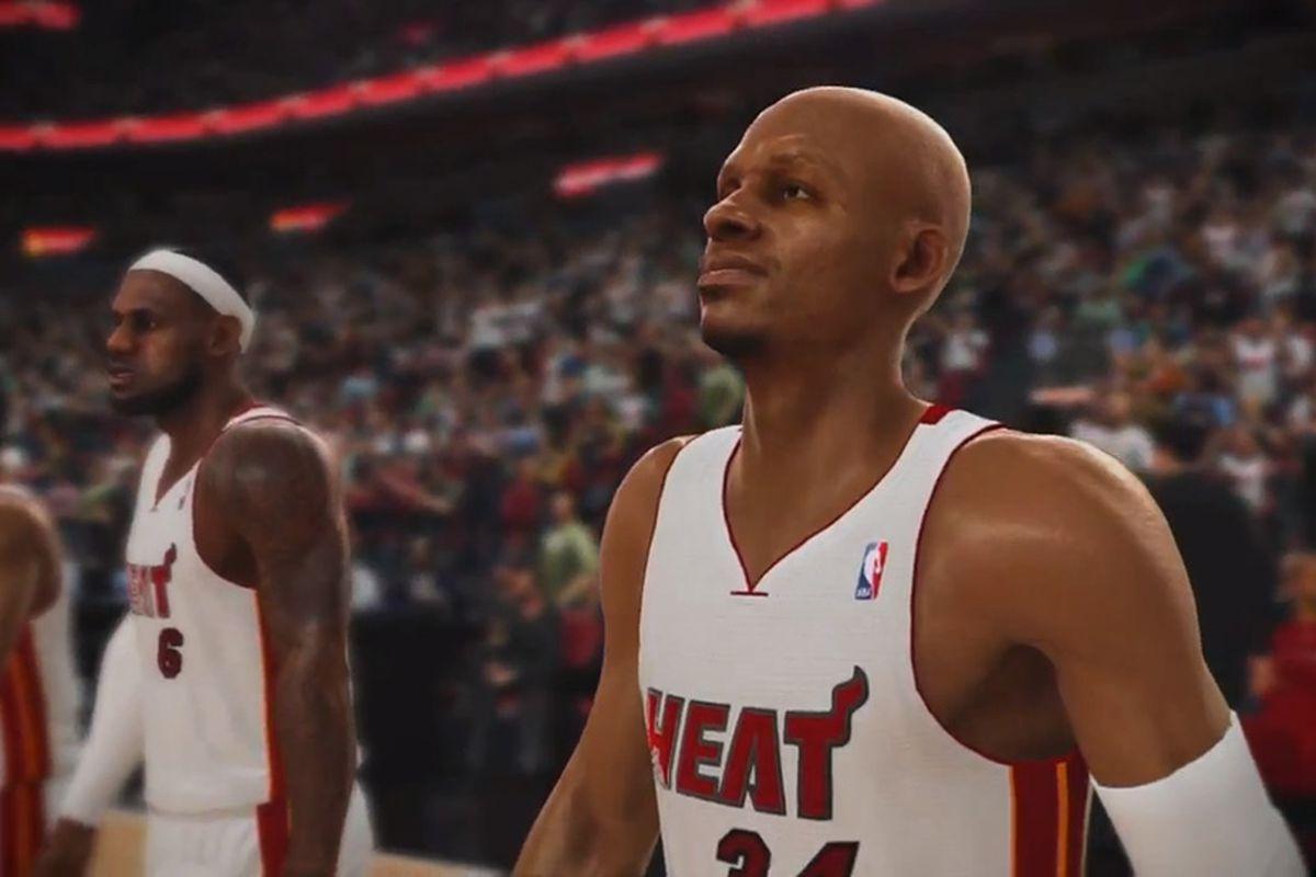 NBA Live 13 first look trailer