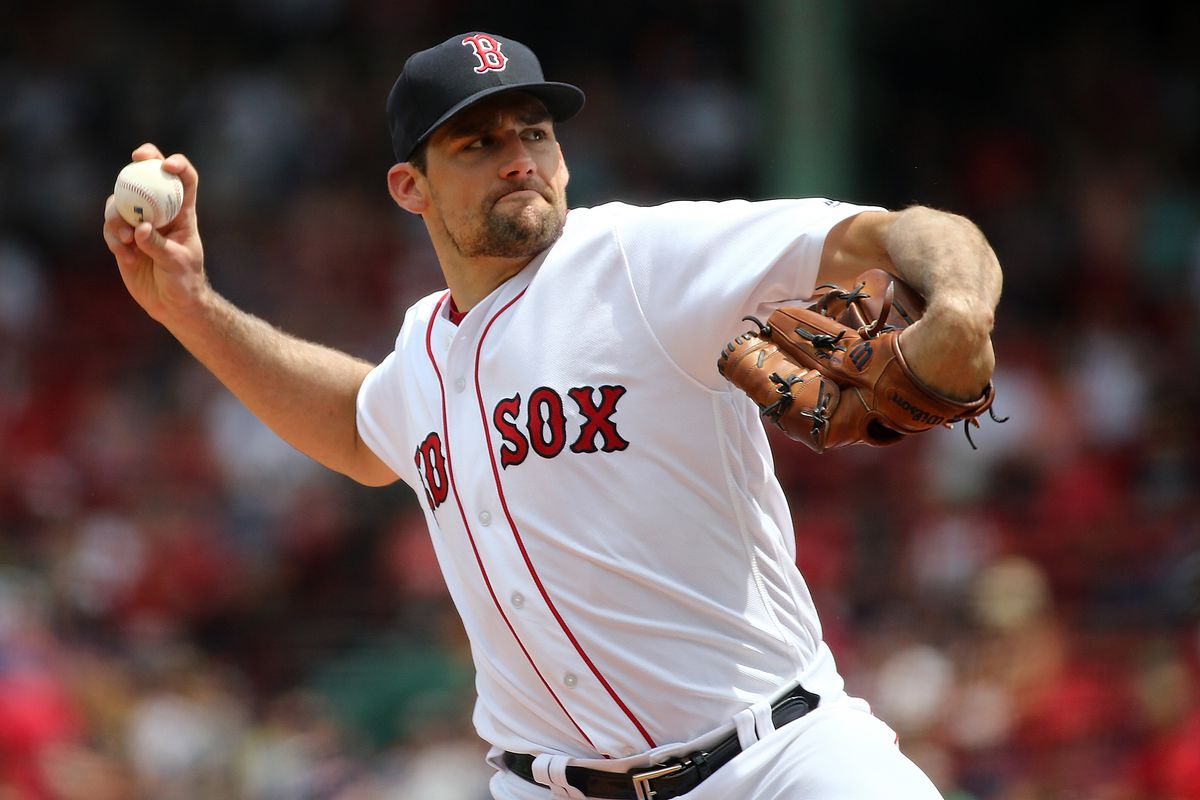 innovative design 2df2e f9bc6 Nathan Eovaldi's Red Sox debut was electric - Over the Monster