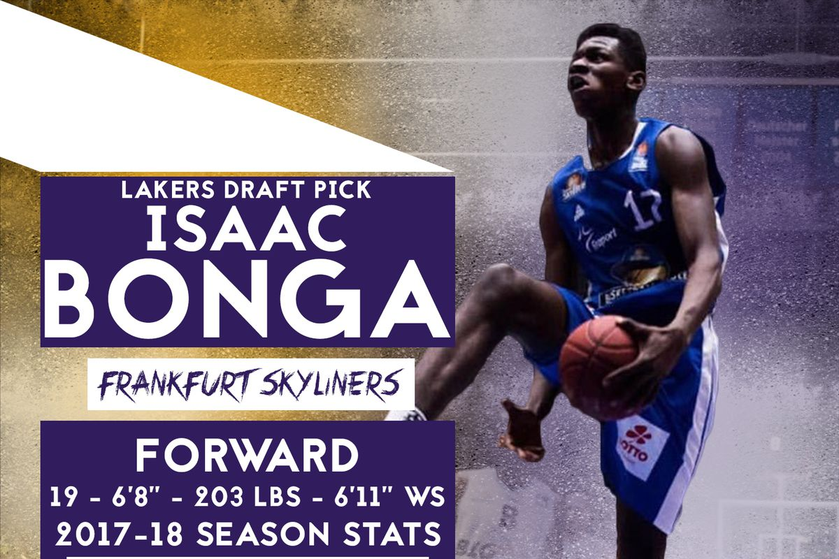 387ae26aa Lakers officially acquire Isaac Bonga from Sixers
