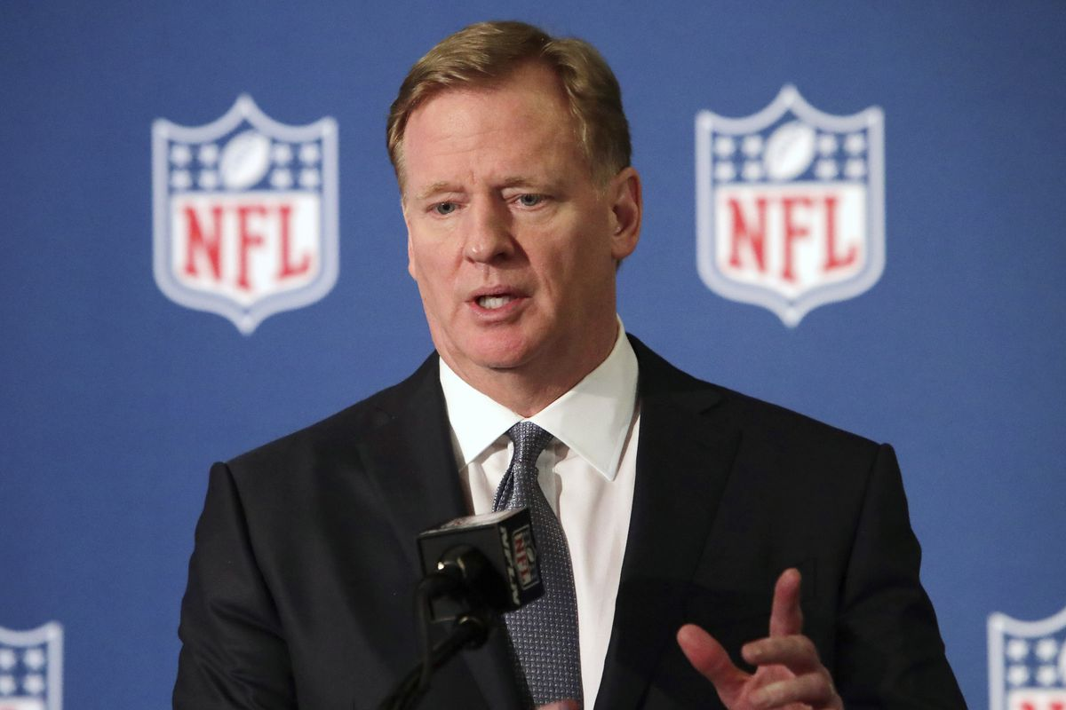 NFL commissioner Roger Goodell told the 32 clubs that coaches will be allowed to return to team facilities.