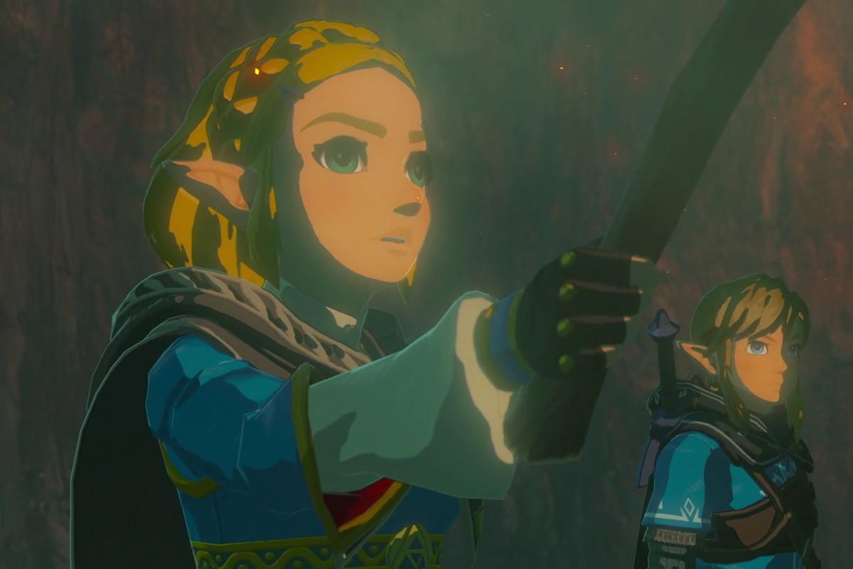 The Legend of Zelda: Breath of the Wild sequel - Zelda and Link