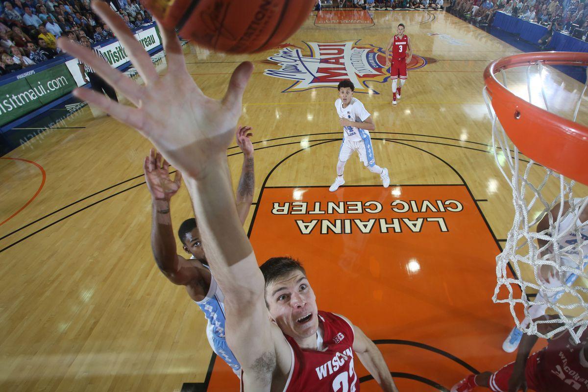 NCAA Basketball: Maui Invitational- Championship Game- Wisconsin vs North Carolina