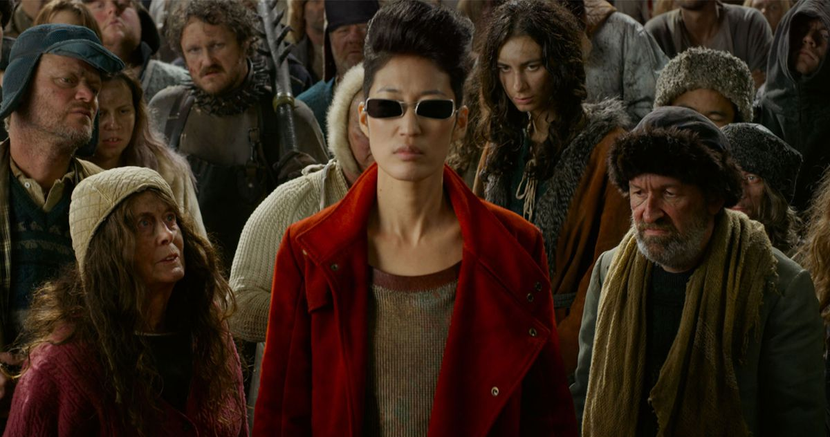 Anna Fang (played by Jihae) is a badass.