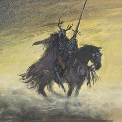 <b>Mel Shaw, concept art for The Black Cauldron, c. 1985.</b>