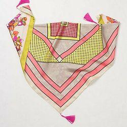 "<a href=""http://www.anthropologie.com/anthro/product/accessories-wraps/24591984.jsp?cm_mmc=PJN-_-Affiliates-_-Placement=20648-_-ShopAnthropologie""> Anthroplogie Knock Knock triangle scarf</a>, $88 anthropologie.com"