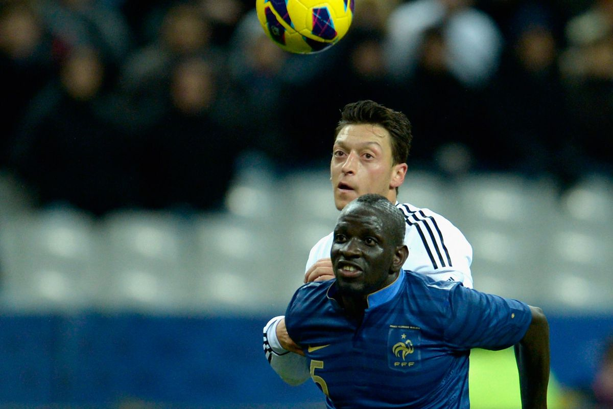 Aresnal's new boy's googly eyes were no match for Sakho