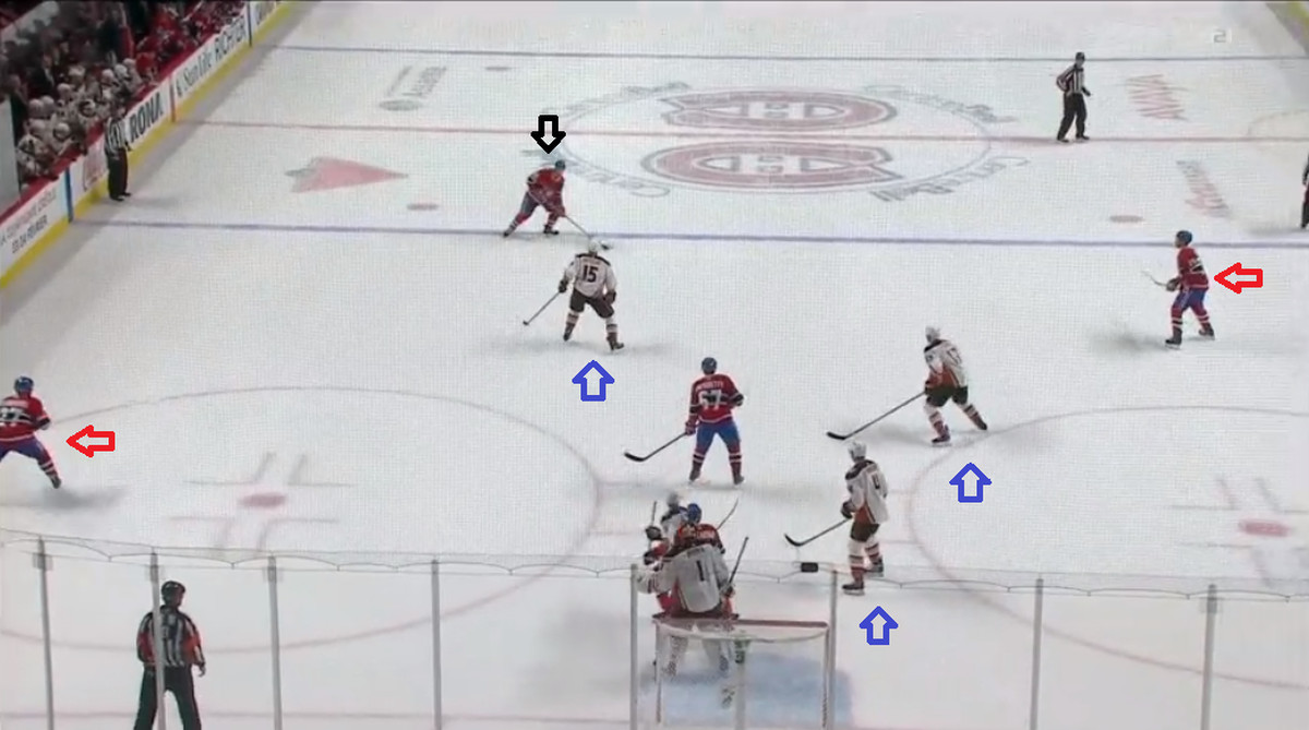 Anatomy Of A Goal Jeff Petry Goes Duck Hunting Eyes On The Prize