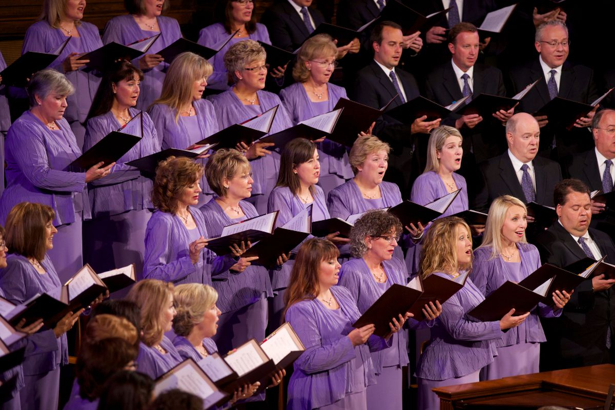 The Tabernacle Choir at Temple Square is under the direction of Mack Wilberg and associate director Ryan Murphy.