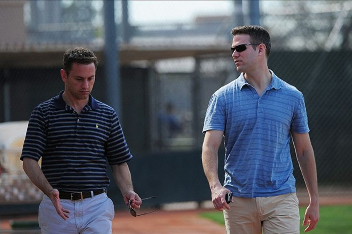 Jed Hoyer and Theo Epstein