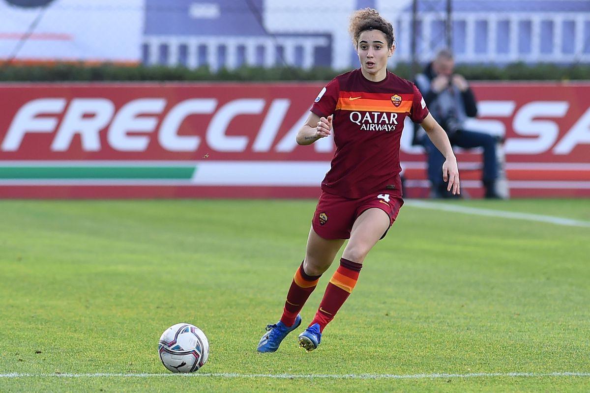 Football Serie A woman Roma-Sassuolo