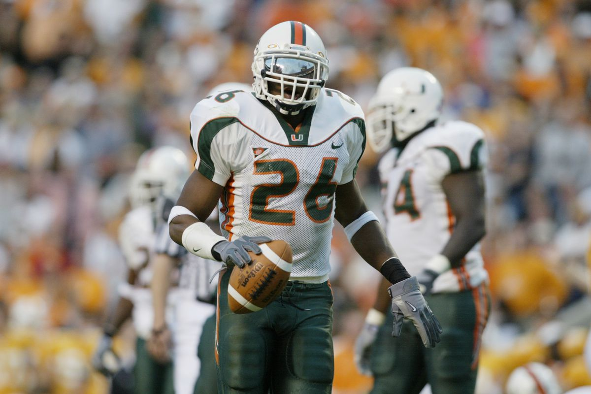 07bd5a69f 26 Days Until Miami Hurricanes Football  Best Players to Wear 26 ...
