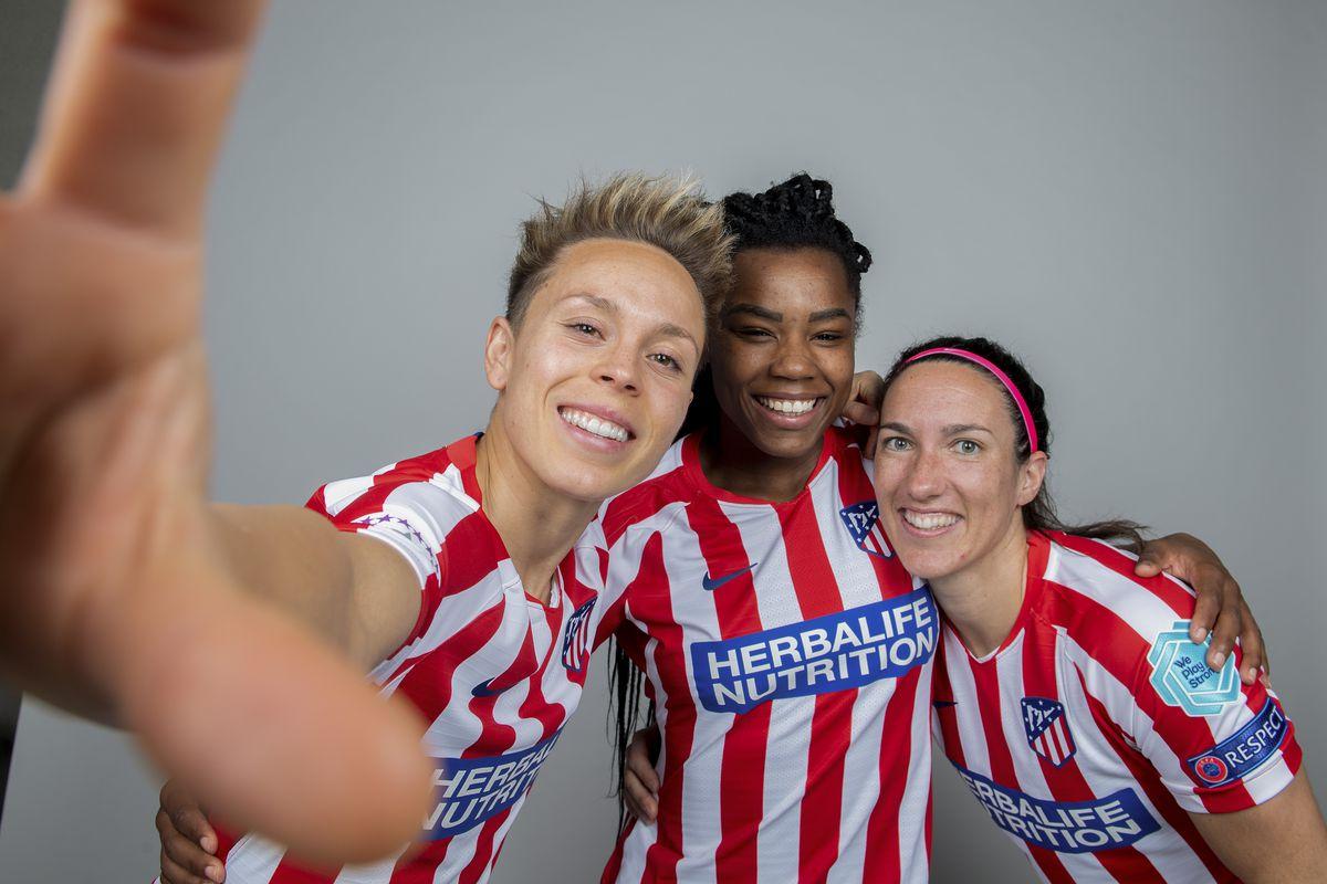 UEFA Women's Champions League Portrait Shoots: Atletico Madrid