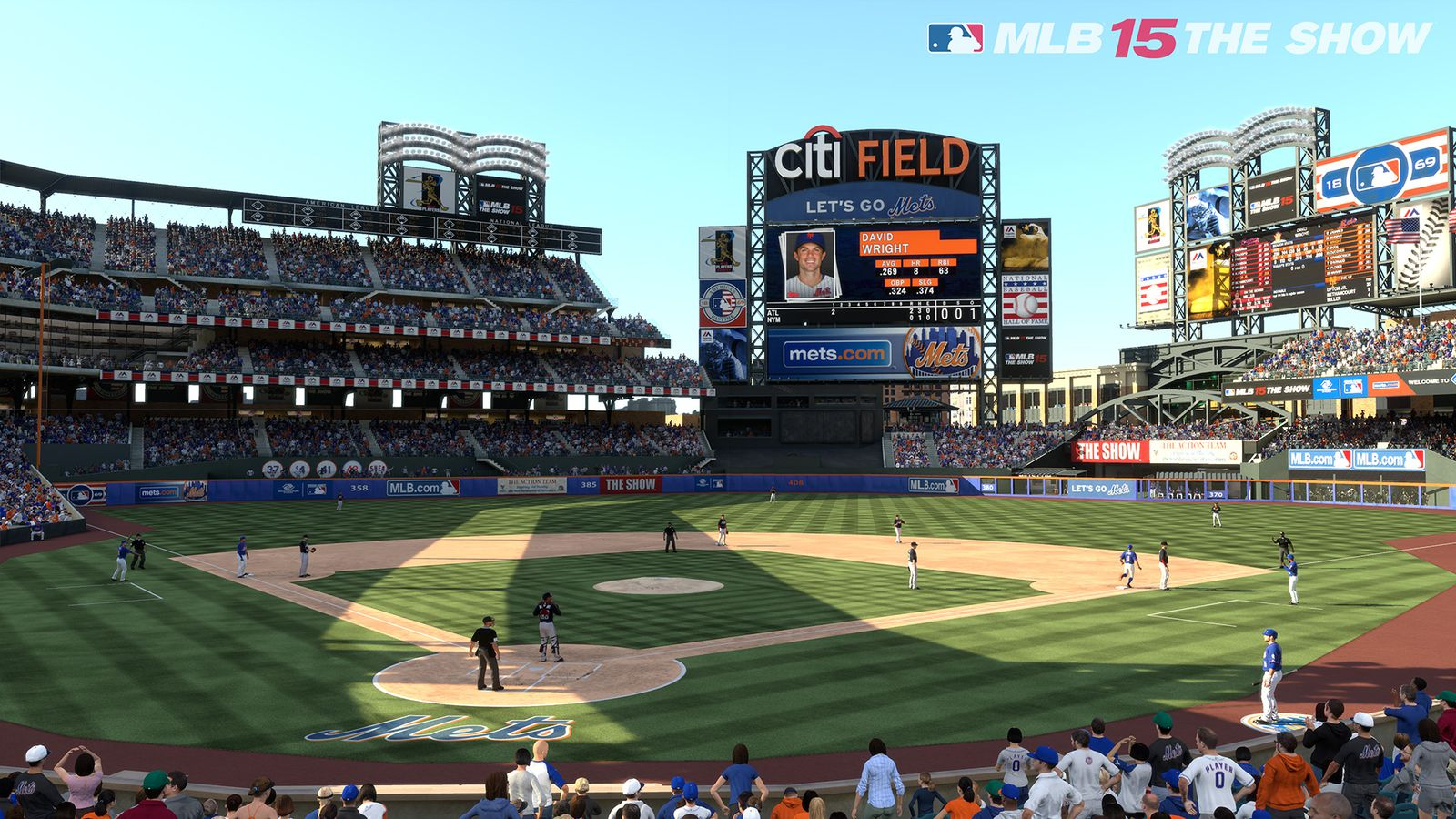 MLB 15 The Show trailer delivers seasonal sunlight and shadows