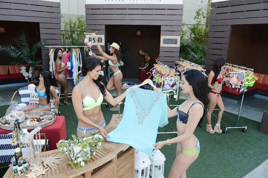 your first look inside the bikini   pop up shop   racked